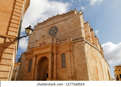 Cathedral Santa Maria in Ciutadella, Menorca, Spain