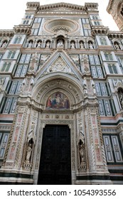 cathedral of santa maria del fiore in florence , italy.architectural detail