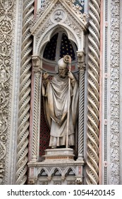 cathedral of Santa Maria del Fiore in Florence , Italy, architectural detail