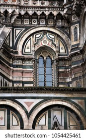 cathedral of Santa Maria del Fiore, Florence, Italy, architectural detail