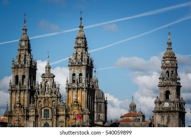 The Cathedral of Santiago de Compostela where the relics of Saint James the Great are kept