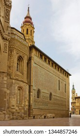 Cathedral of the Savior of Zaragoza, or La Seo de Zaragoza is a Roman Catholic cathedral in Zaragoza, in Aragon, Spain. It is part of the World Heritage Site