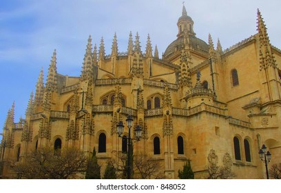 Cathedral in Sevilla, Spain