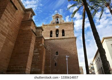 Cathedral in Almería, Spain
