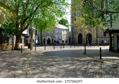 Cathedral Square Truro at Lockdown