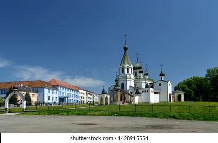 Cathedral of St. Alexander Nevsky in Presov. Slovakia