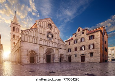 The Cathedral of St. Anastasia,  Roman Catholic cathedral in Zadar, Croatia