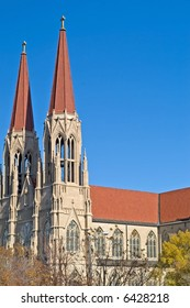 Cathedral of St. Helena in Helena, Montana
