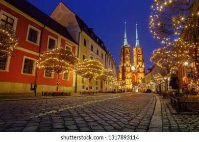The Cathedral of St. John the Baptist in Wroclaw