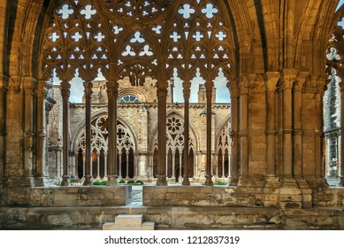Cathedral of St. Mary of La Seu Vella is the former cathedral church of the Roman Catholic Diocese of Lleida, in Lleida, Catalonia, Spain. Covered gallery