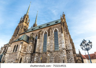 Cathedral of St Peter and Paul - Brno, Moravia, Czech Republic, Europe