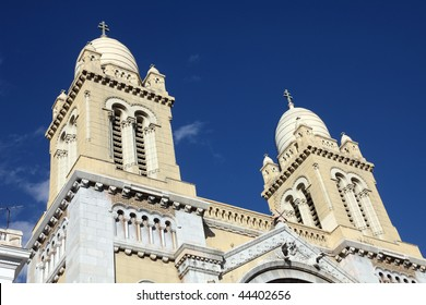 The Cathedral of St Vincent de Paul is a Roman Catholic cathedral in Tunis