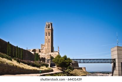 Cathedral of Sue Vella, LLeida, Catalunya, Spain