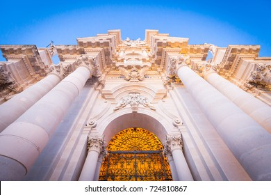 The Cathedral of Syracuse (Duomo di Siracusa) is an ancient Catholic church in Syracuse, Sicily, and is included in a UNESCO World Heritage Site.