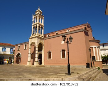 The Cathedral of the Three Hierarchs in the town of Skiathos, Skiathos Island, Greece