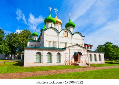 The Cathedral of the Transfiguration of the Saviour at the Saviour Monastery of St. Euthymius in Suzdal city, Golden Ring of Russia