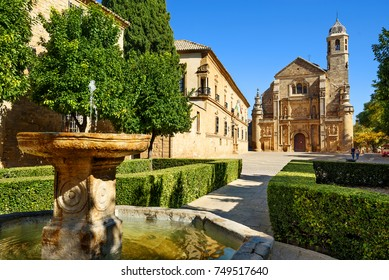 Cathedral of Ubeda village,Andalusia,Spain
