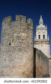 Cathedral and walls of El Burgo de Osma, Soria, Spain