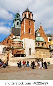 Cathedral at Wawel hill in Cracow. Poland