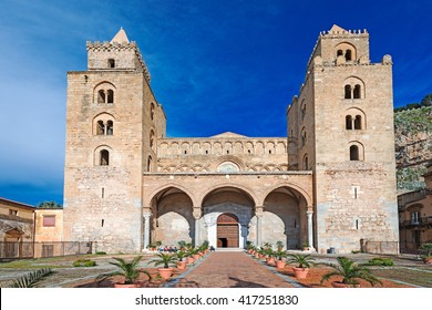 The Cathedral-Basilica of Cefalu (Duomo di Cefalu) is a Roman Catholic church in Cefalu, Sicily, Italy. The cathedral, dating from 1131, built in the Norman style.
