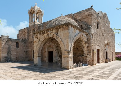 Cathedrale Saint Jean Marc.Byblos is a Mediterranean city in the Mount Lebanon.Byblos is located about 42 kilometres (26 mi) north of Beirut.