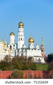 Cathedrals in Kremlin, Moscow