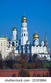 Cathedrals of Kremlin, Moscow, Russia