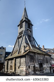 Catherine Church in Honfleur, old wooden church