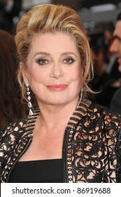Catherine Deneuve  at the 64th Festival de Cannes awards gala. May 22, 2011  Cannes, France Picture: Paul Smith / Featureflash