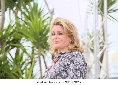 Catherine Deneuve  attends the 'La Tete Haute' ('Standing Tall') photocall during the 68th annual Cannes Film Festival on May 13, 2015 in Cannes, France.