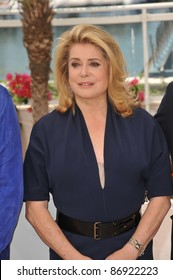 """Catherine Deneuve at the photocall for her movie """"Beloved"""" which is the closing film at the 64th Festival de Cannes. May 21, 2011  Cannes, France Picture: Paul Smith / Featureflash"""