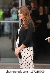 Catherine Duchess of Cambridge attending the Inauguration of Warner Bros. Studios in Watford, England.