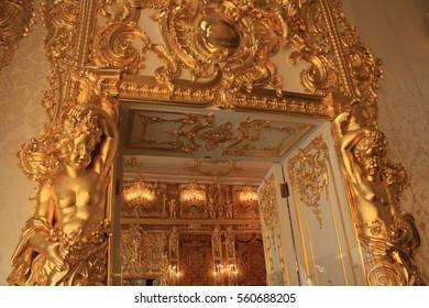 Catherine Palace : Saint Petersburg Russia 14 July 2016