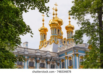 Catherine Palace in Tsarskoye Selo, St. Petersburg