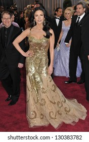 Catherine Zeta-Jones at the 85th Academy Awards at the Dolby Theatre, Hollywood. February 24, 2013  Los Angeles, CA Picture: Paul Smith
