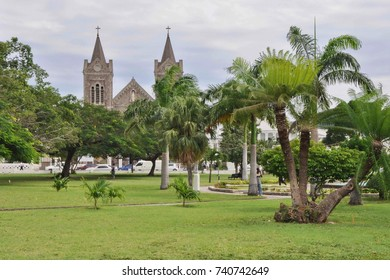 Catholic Cathedral in Basseterre, Saint Kitts and Nevis