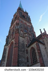 Catholic Cathedral in Dusseldorf, Germany