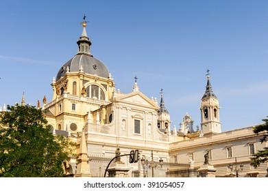 Catholic cathedral, Madrid, Spain