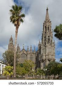 Catholic church in Arucas, Canary Islands, Spain