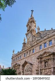 Catholic church of Església de Sant Joan del Mercat in Valencia, Spain