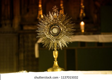Catholic church monstrance