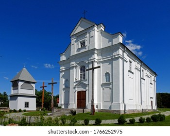 the Catholic church of Saint Sigismund of Burgundy, ordained in 1910 in the village of Kleszczele in the Podlasie region of Poland - Shutterstock ID 1766252975