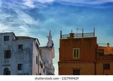 catholic church venice San Lazzaro dei Mendicanti detail