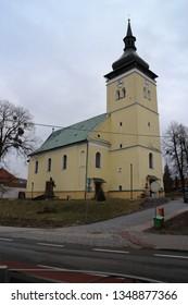 Catholic church in Vizovice, Zlín region, Czech republic