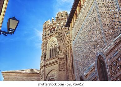 Catholic Church in Zaragoza, rebuilt from a Mosque, Spain, Aragon Region