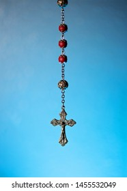 Catholic prayer beads with crucifix