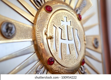 Catholic tabernacle for the consecrated hosts