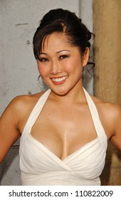 "Cathy Shim at the Los Angeles premiere ""Balls Of Fury"". The Egyptian Theatre, Hollywood, CA. 08-25-07"