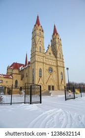 Catolic church in Karaganda, Kazakhstan