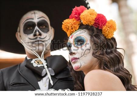 Catrin Catrina Cemetery Wedding Dresses Old Stock Photo Edit Now